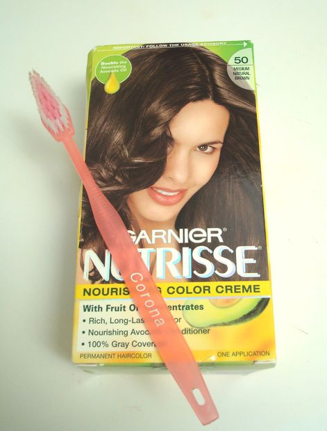7. Apply Hair Dye