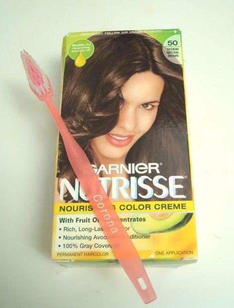 7. Apply Hair Dye