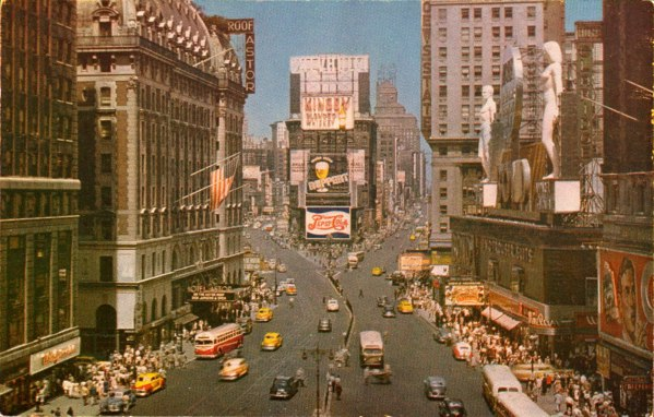 9 Times Square, 1950's