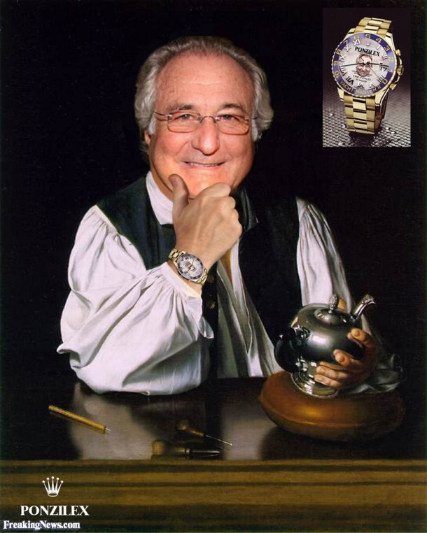 9. Rolex is a Victim of Bernie Madoff