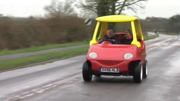 Adult Version of the Little Tikes Cozy Coupe