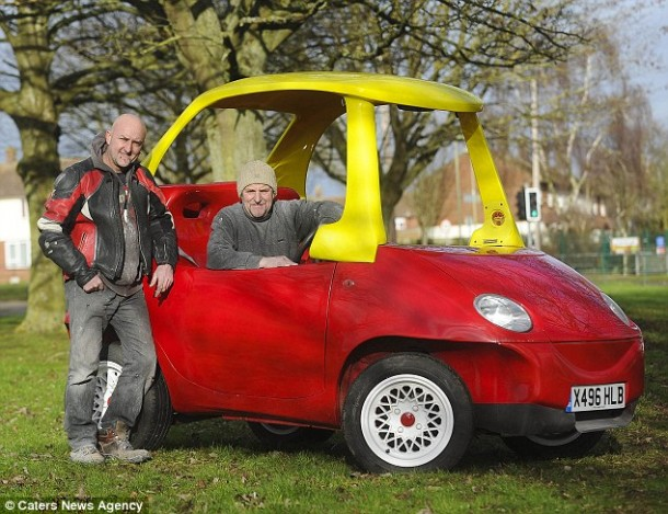Adult Version of the Little Tikes Cozy Coupe2