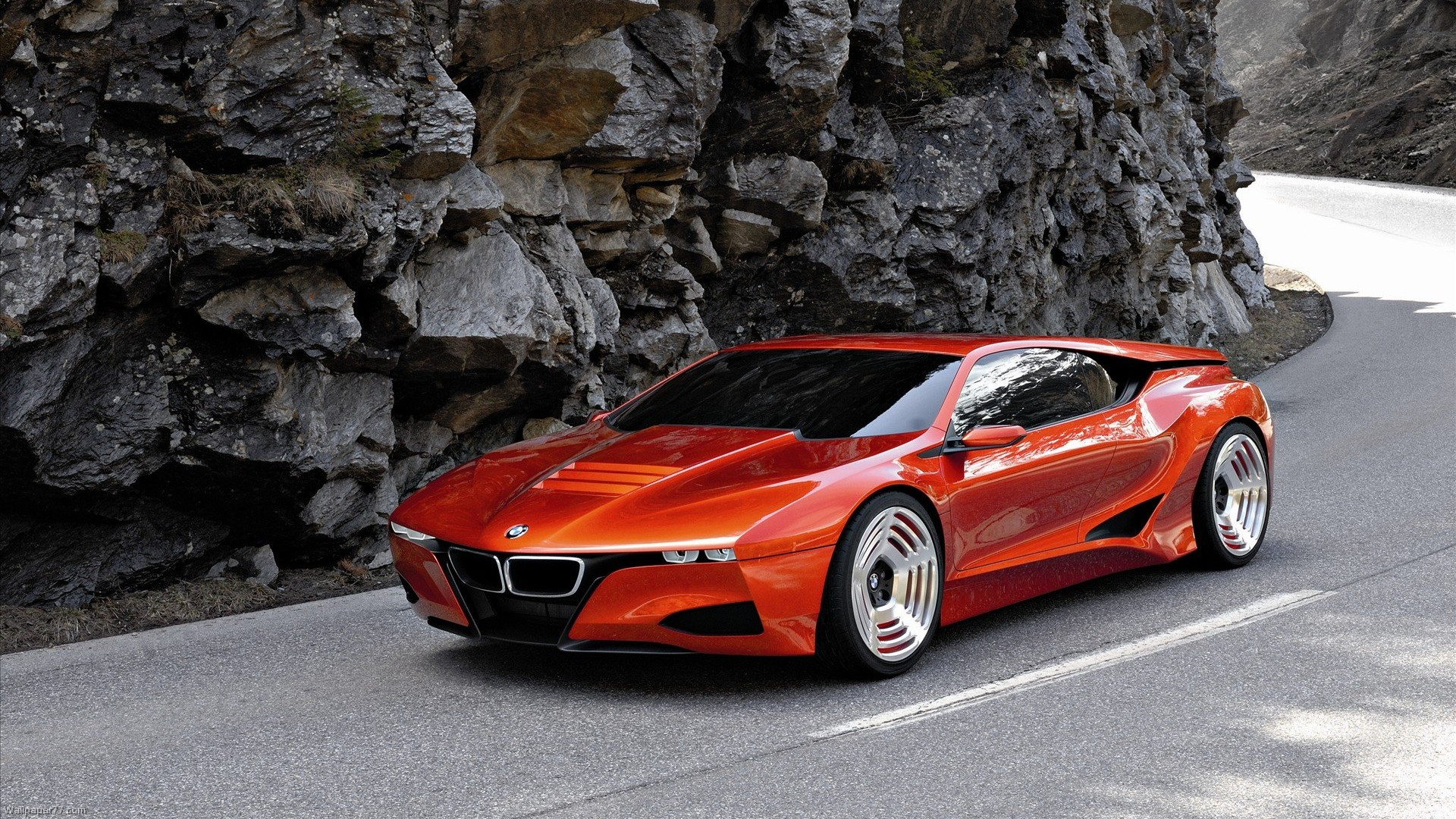 ... BMW M1 Homage Concept Red Bmw Wallpapers Car  ...