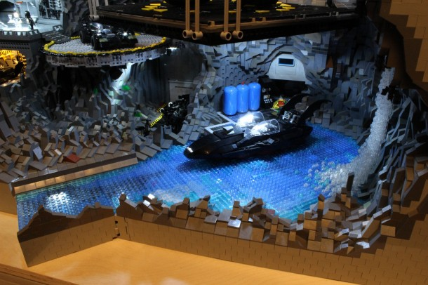 Batcave made from LEGO10