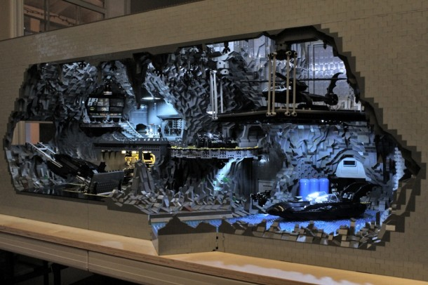 Batcave made from LEGO11