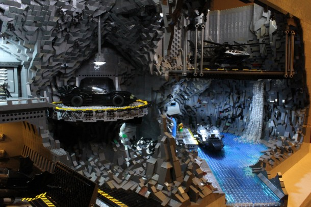 Batcave made from LEGO2