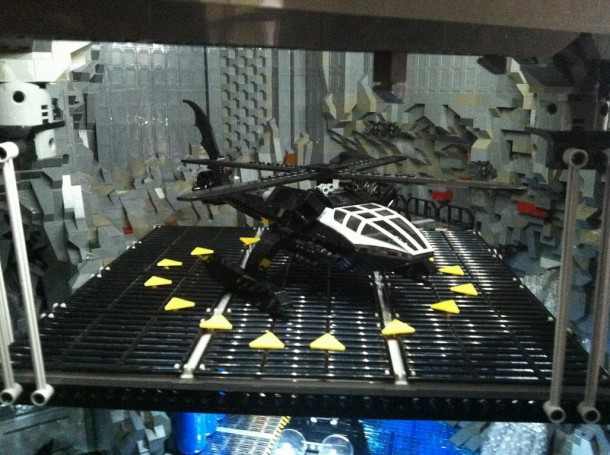Batcave made from LEGO5