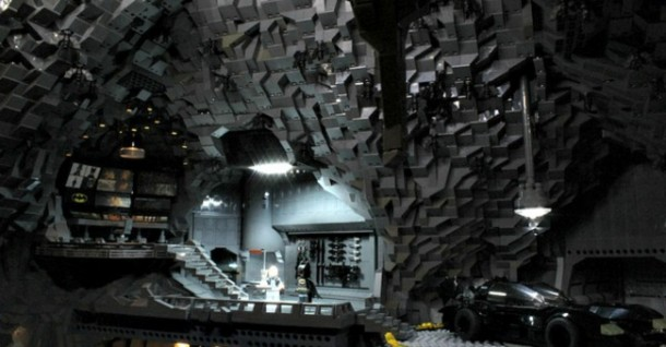 Batcave made from LEGO7