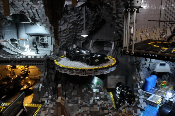 Batcave made from LEGO8