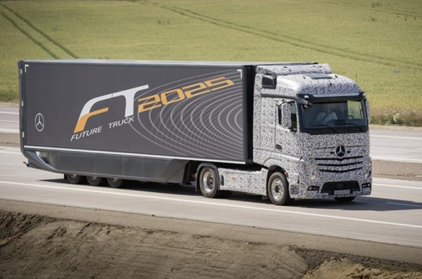 Daimler Future Trucks Autonomous Trucks all Set for 2025 2