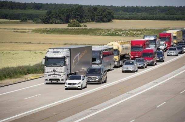 Daimler Future Trucks Autonomous Trucks all Set for 2025 8