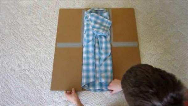 Folding Shirt with Style 9c