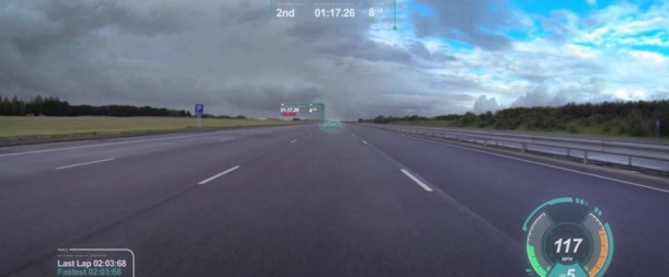 Jaguar Introduces Virtual Windscreen Concept