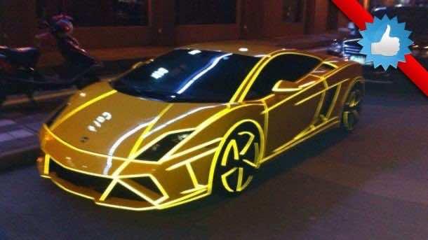 Japanese Yakuza Lamborghini