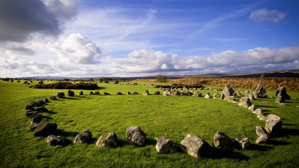 Beaghmore Stone Circles in County Tyrone, Northern Ireland