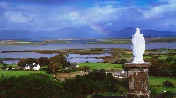 St Patrick's Statue, Co Mayo, Ireland