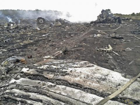 Malaysian Airlines MH-17 Crash Pictures-5