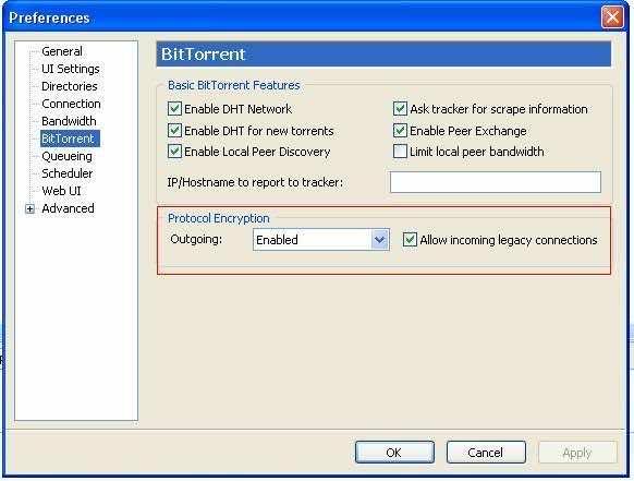 Optimize uTorrent Step 4