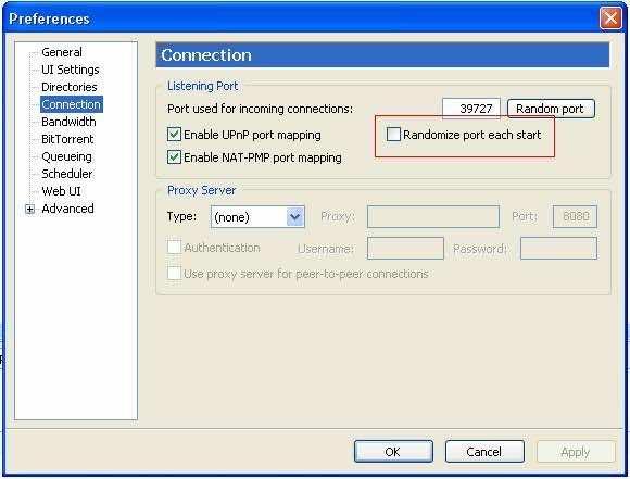 Optimize uTorrent Step 5