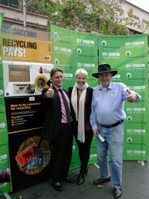 Launch of Reverse Vending Machines in Sydney