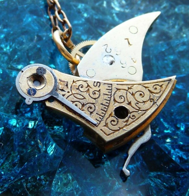 Recycled Watch Pendants (19)