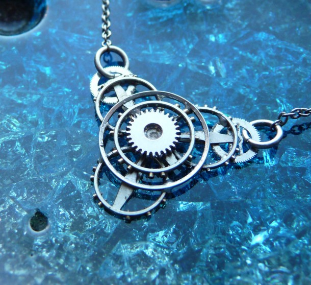 Recycled Watch Pendants (25)