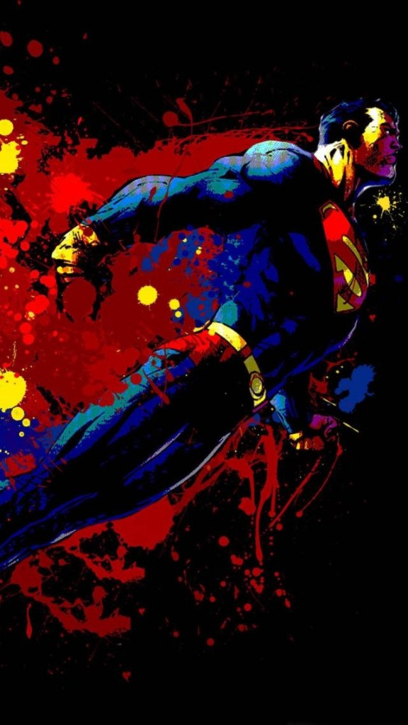 Superman-Graphitti-phone-wallpaper-576x1024