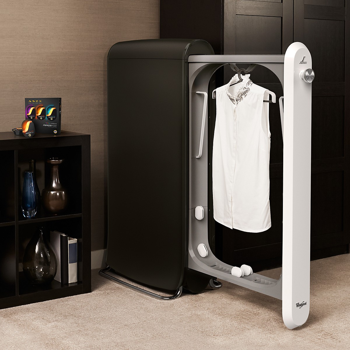 Bedroom Without Closet Swash Is A New Machine That Will Wash Your Clothes And