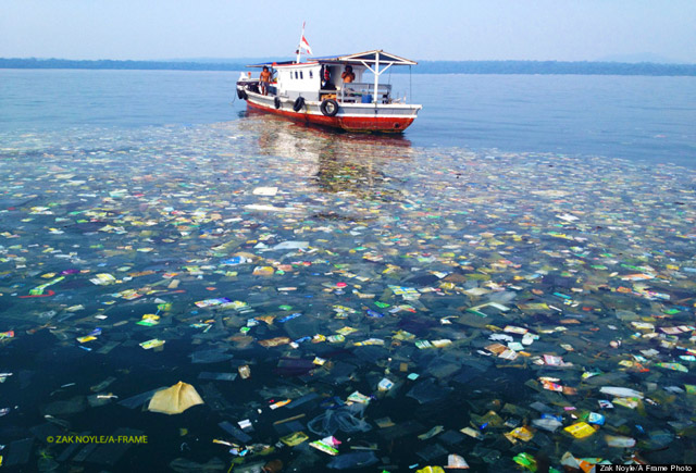 Trash-in-the-Ocean-Indonesia