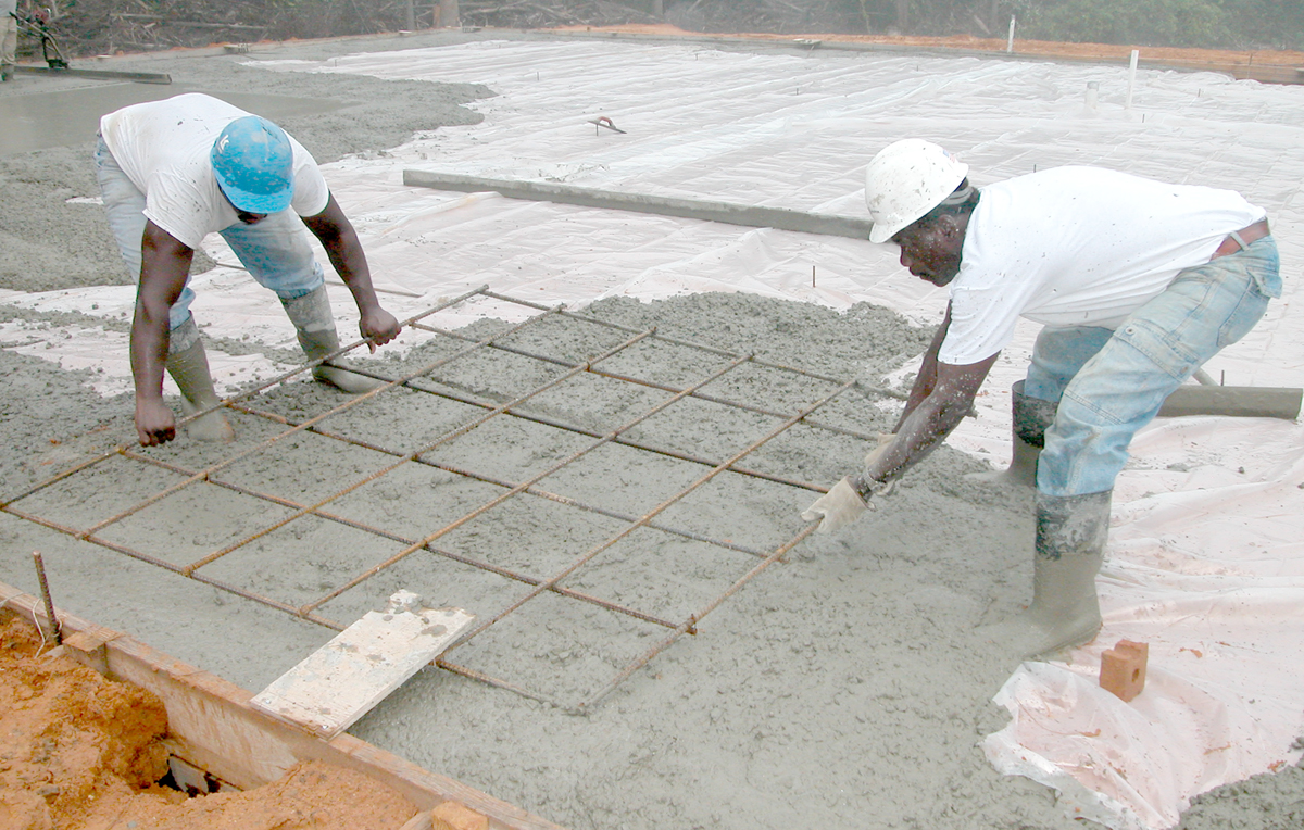 What is concrete for Names of roofing materials