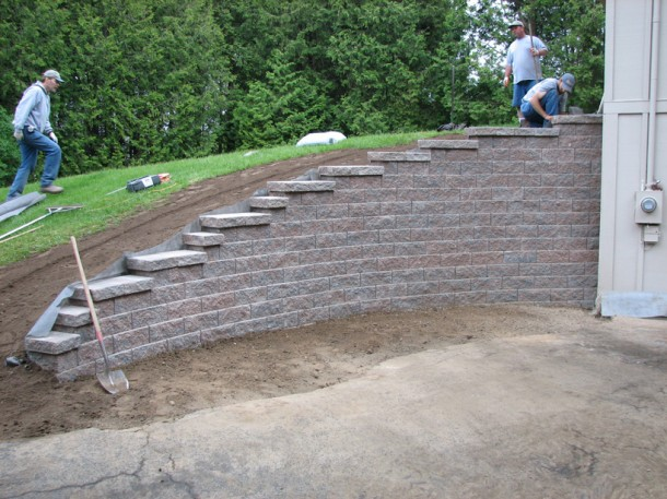 What is Retaining Wall 10