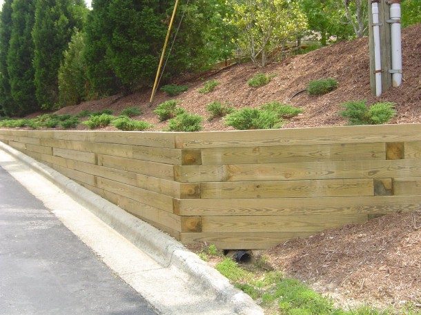 What is Retaining Wall 3
