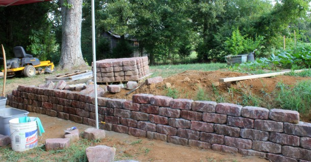 What is Retaining Wall 9