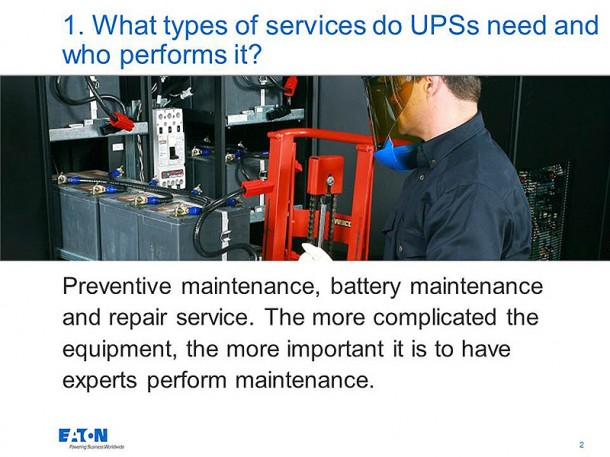 What is an Ups (3)