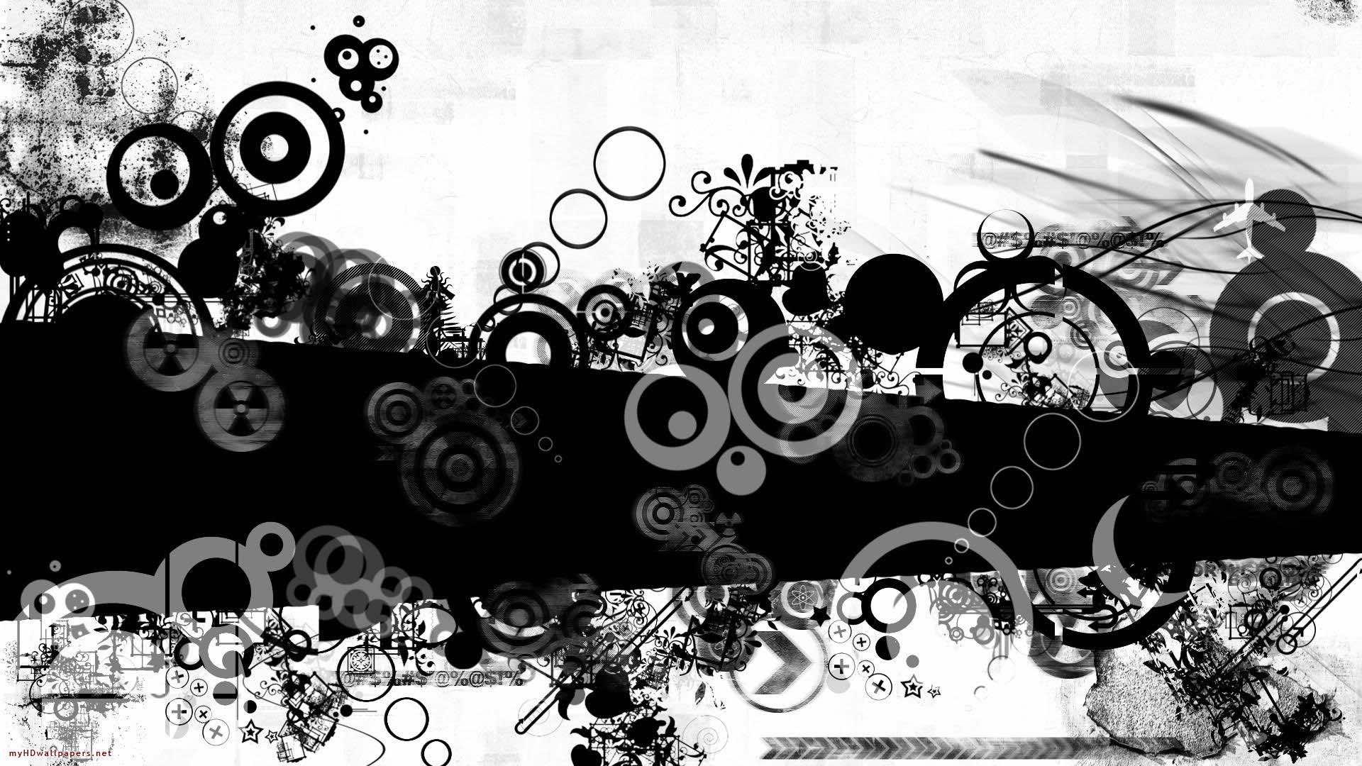 black and white wallpaper 9