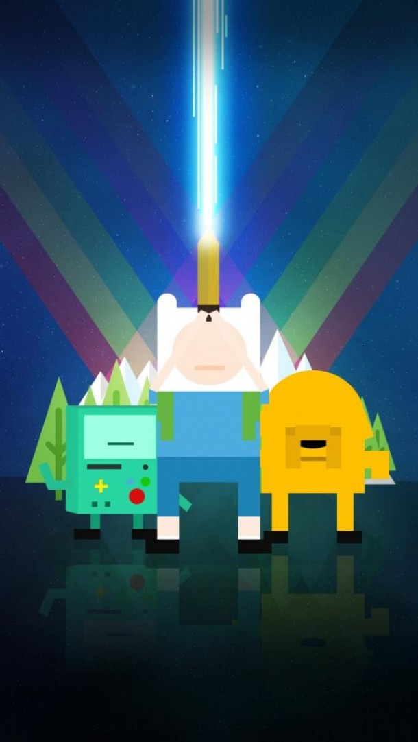 Adventure Time Starwars Wallpaper By Telephonewallpaper Com