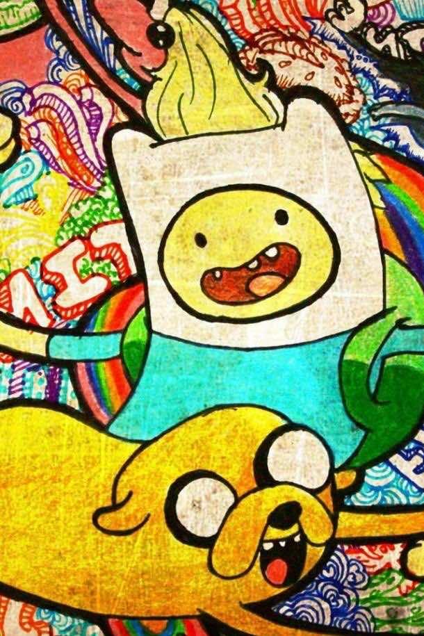 Adventure Time Wallpaper by TelephoneWallpaper.com