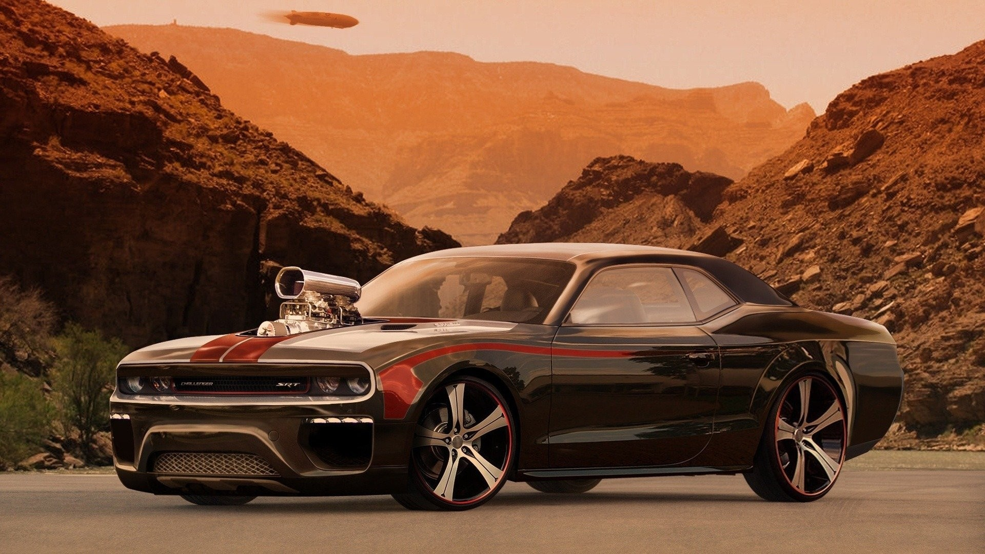 ... Cool Muscle Car Wallpaper ...