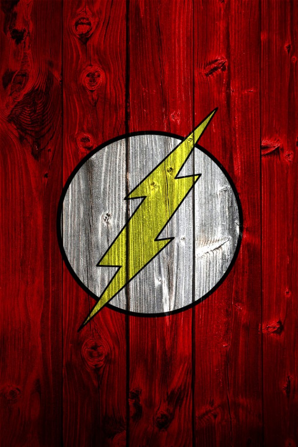 HD Phone Wallpapers flash logo
