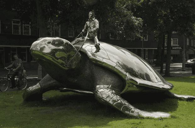 Search for Utopia-Sculpture