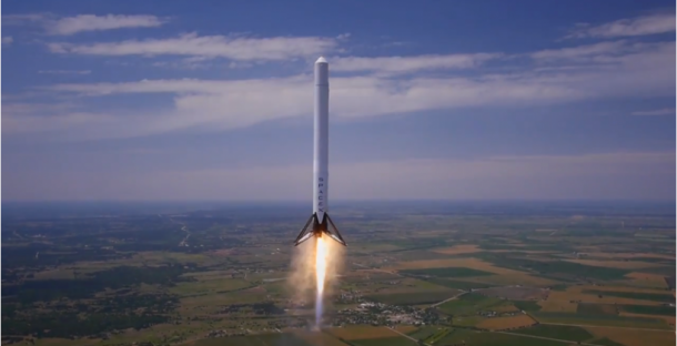 reusable rocket falcon 9 landing3