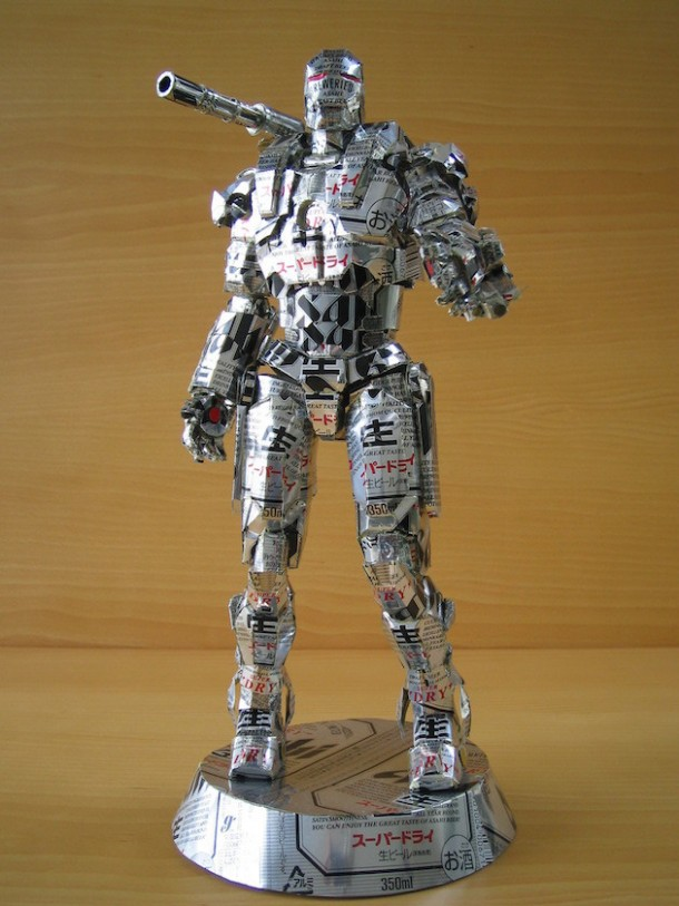10.) War Machine from Iron Man.