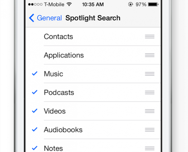12. Restrict Indexing by Spotlight Search