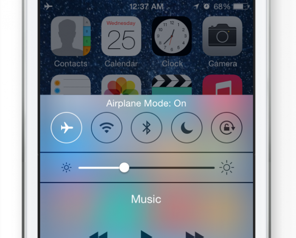 13. Switch on Airplane Mode when you don't need cellular Service