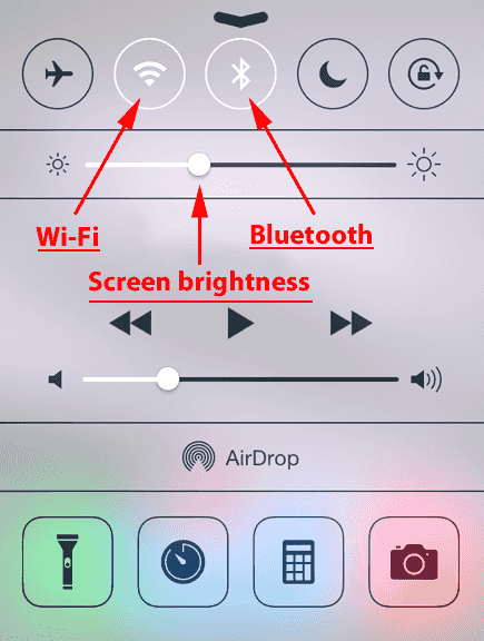 14. Switch off Wi-Fi and Bluetooth When you Don't Need them