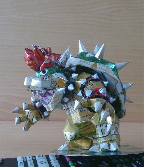 16.) Bowser from Mario Brothers.