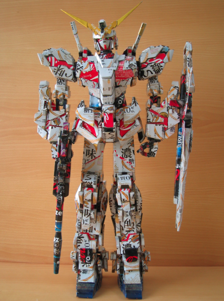 23.) Another awesome Gundam robot.