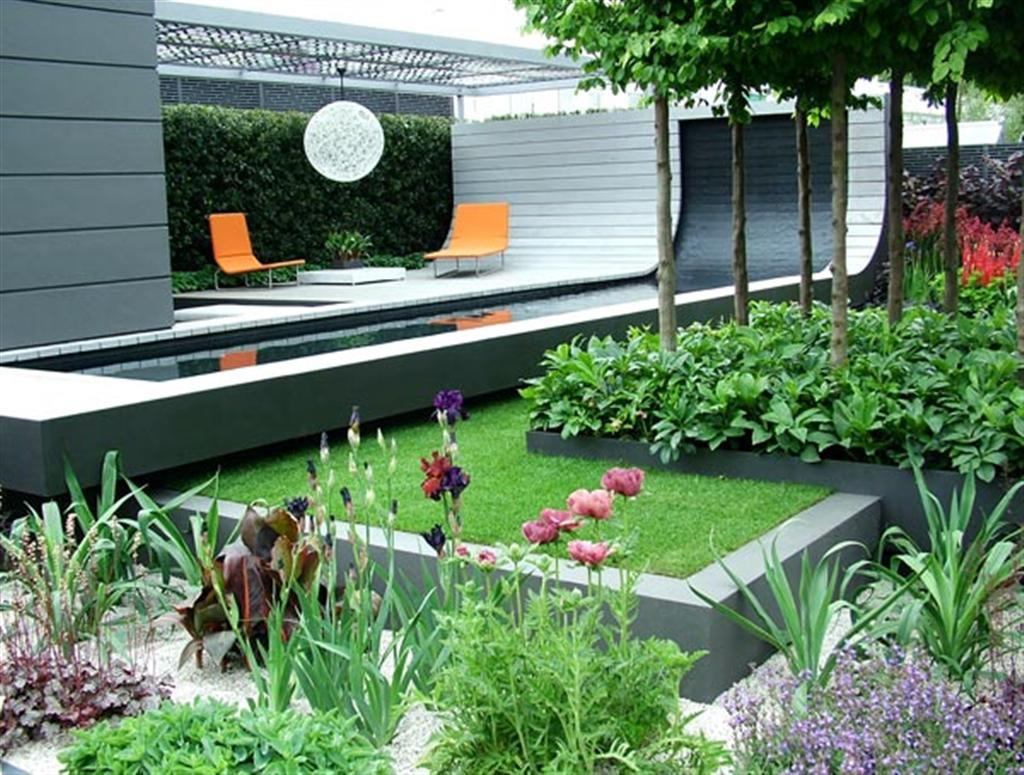 25 garden design ideas for your home in pictures for Modern garden