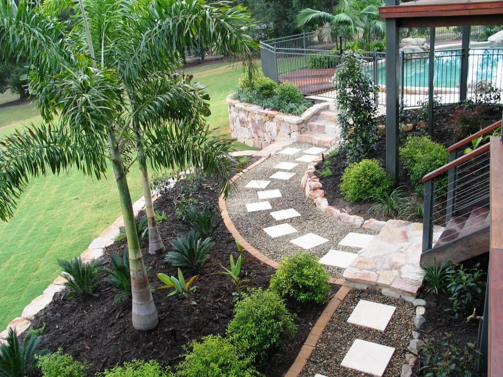 25 garden design ideas for your home in pictures for Ideas for landscaping large areas