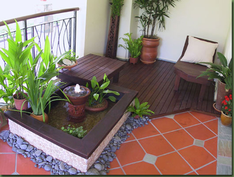 25 wonderful balcony design ideas for your home ForBalcony Zen Garden Ideas
